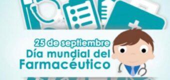 25 de Septiembre – Día Mundial del Farmacéutico.
